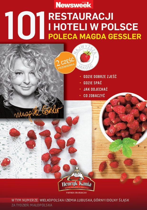 101 restauracji i hoteli w polsce poleca magda gesler